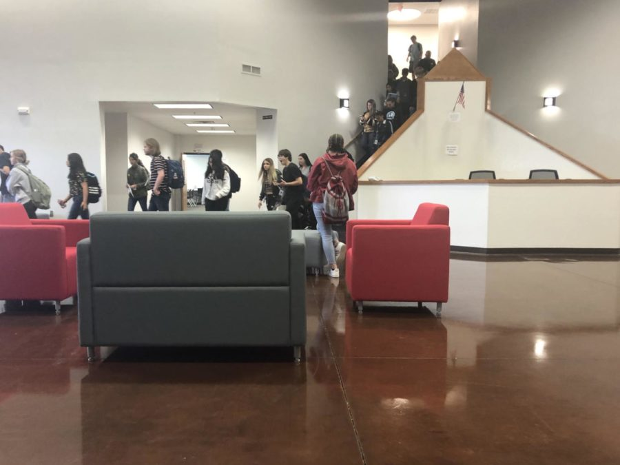 This is a photo of the new annex at Westmoore High School.