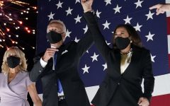Joe Biden and Kamala Harris celebrate their victory on Election Night.