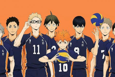 Haikyu!! is a Japanese anime about a boy determined to become a great volleyball player despite his small stature. The show has been named one of the most popular animes by Westmoore students.